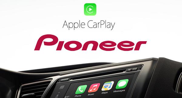 Autorádio Pioneer s Apple CarPlay