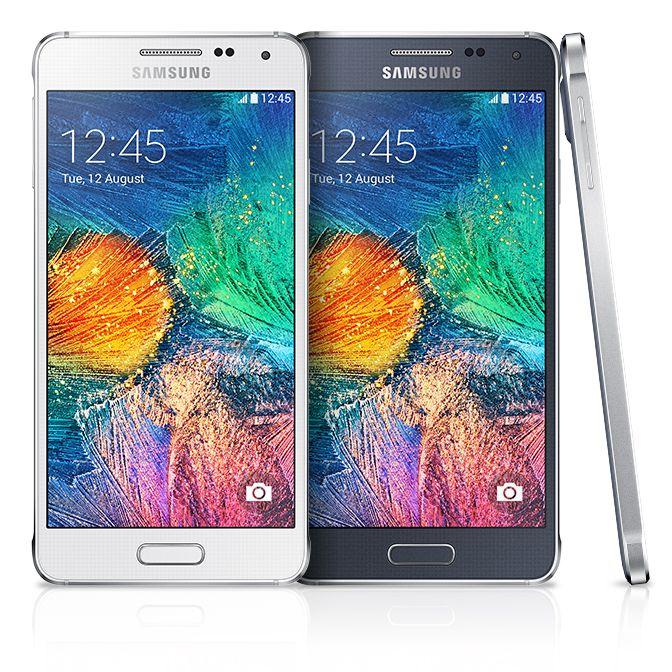 Samsung GALAXY Alpha: 8 jadier v hliníku