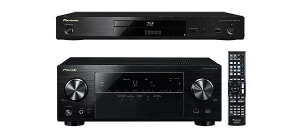 AV recieveru a Blu-ray Pioneer