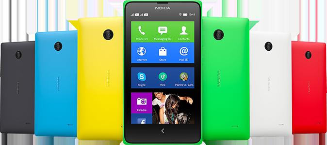 Nokia X - prvá Nokia s Androidom