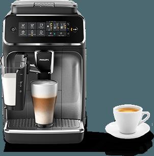kávovar a šálka kávy