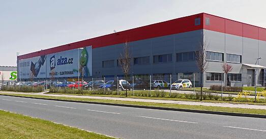 logistické centrum Alza.cz Horní Počernice
