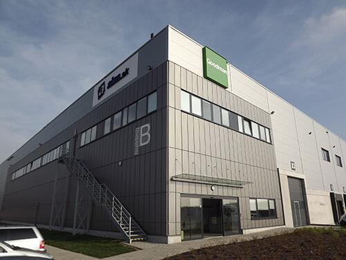 logistické centrum Alza.sk Senec