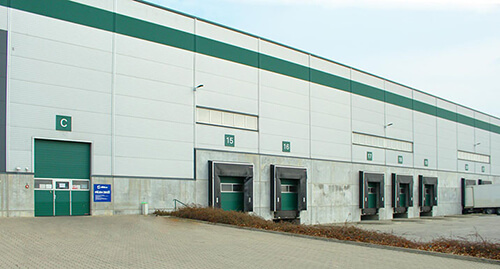 logistické centrum Alza.cz Úžice