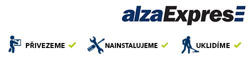 alzaExpres - přivezeme, nainstalujeme, uklidíme