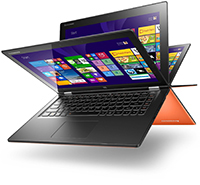 Lenovo IdeaPad Yoga 2 13 Orange