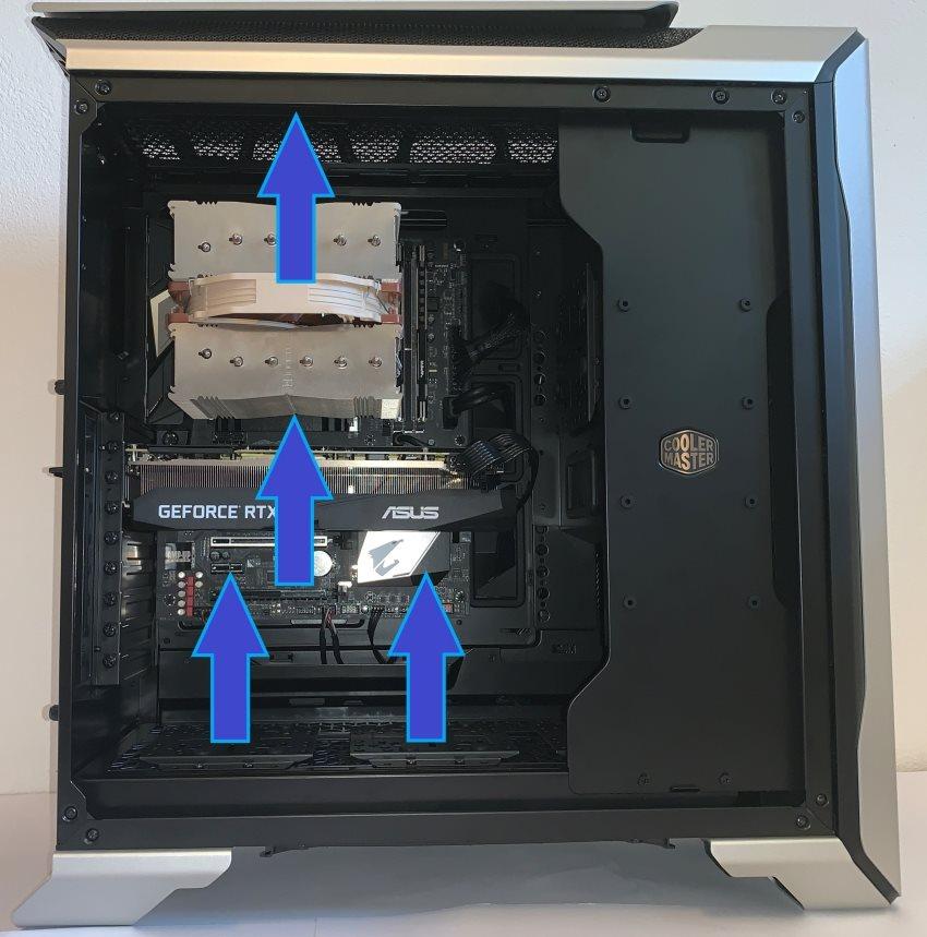 Cooler Master MasterCase SL600M; PC skrinka