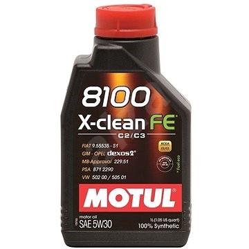 MOTUL 8100 X-CLEAN FE 5W30 1L - Motorový olej