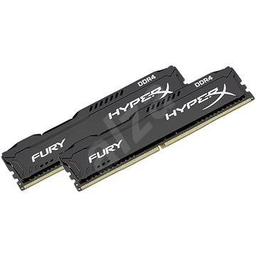 HyperX 16 GB KIT DDR4 2666 MHz CL16 Fury Black Series - Operačná pamäť