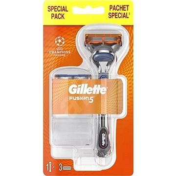 GILLETTE Fusion + hlavica 3 ks - Holiaci strojček
