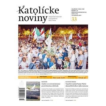 Katolícke noviny - 33/2019 - Elektronický časopis