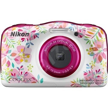 97e639b0cba10 Nikon COOLPIX W150 kvetinový backpack kit - Detský fotoaparát | Alza.sk