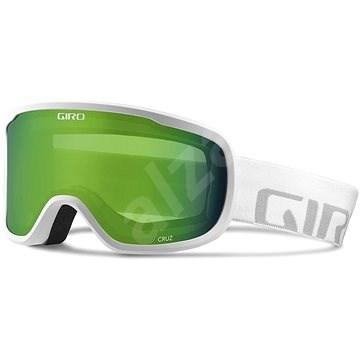 GIRO Cruz White Wordmark Loden Green - Lyžiarske okuliare  bdb61df3f8a