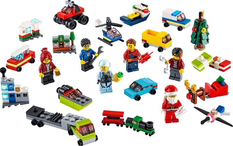 LEGO City 60268 Adventný kalendár