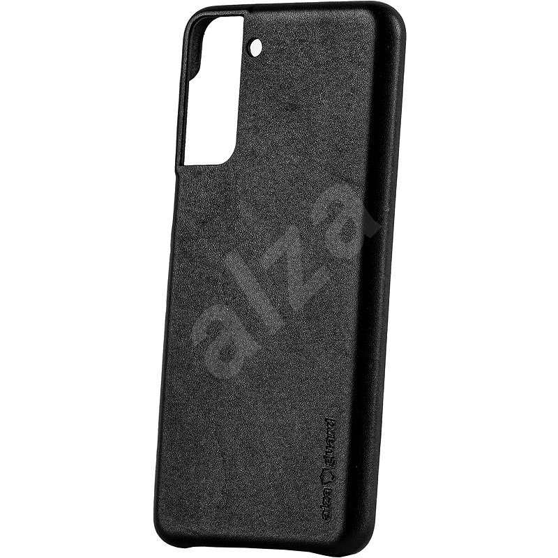 AlzaGuard Premium Leather Case for Samsung Galaxy S21+ čierny - Kryt na mobil