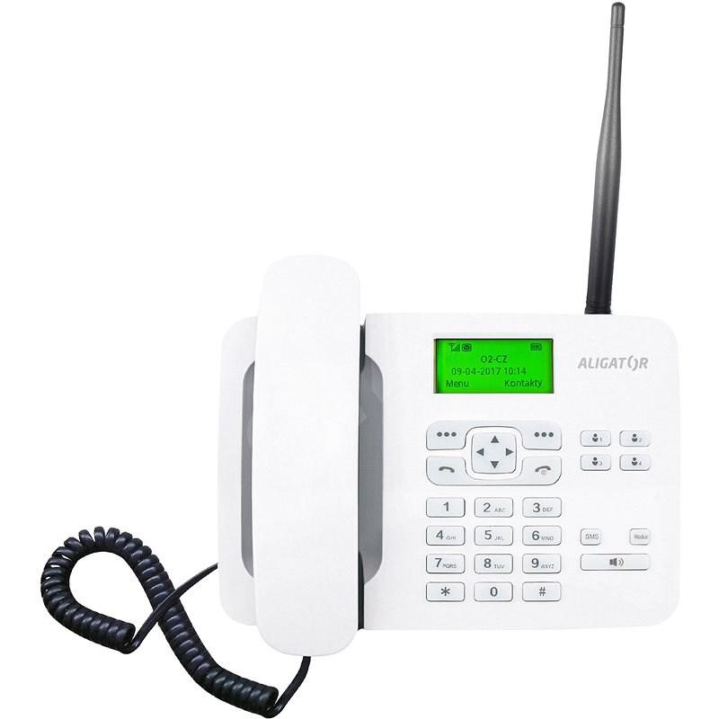 Aligator T100 biely - Mobilný telefón