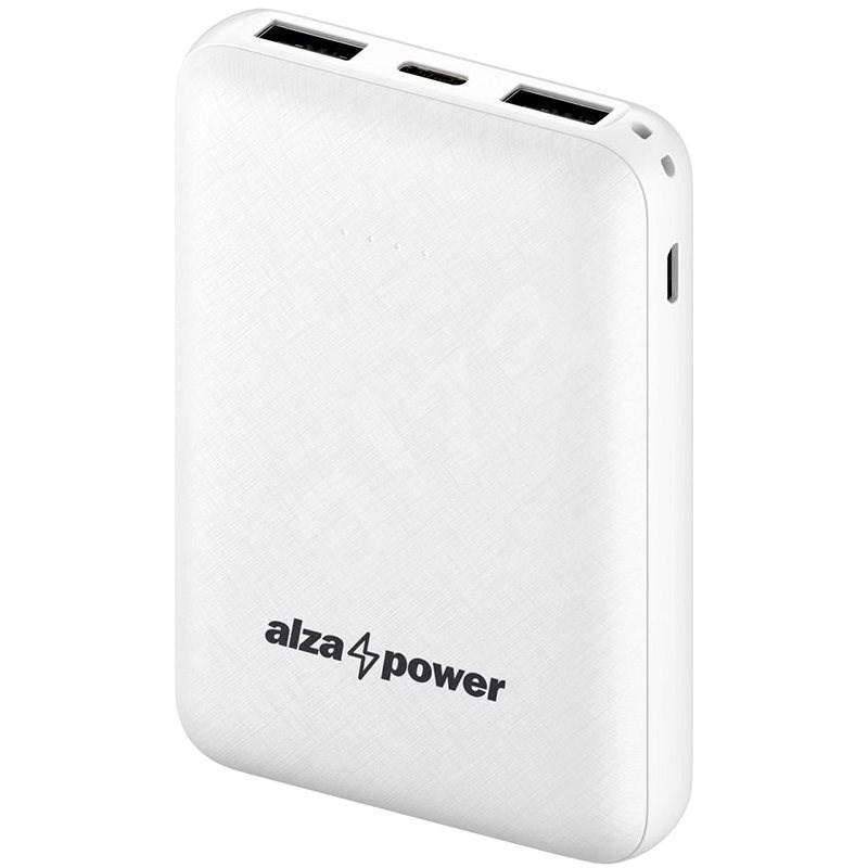 AlzaPower Onyx 10 000 mAh USB-C biela - Powerbank