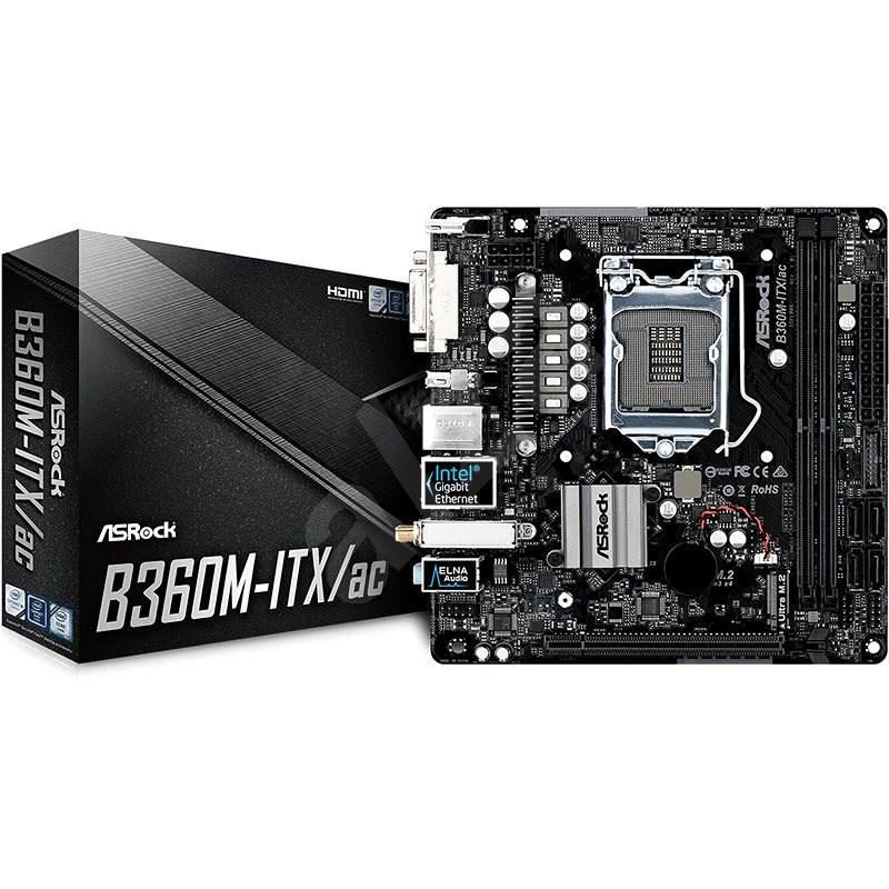 ASROCK B360M-ITX/AC - Základná doska