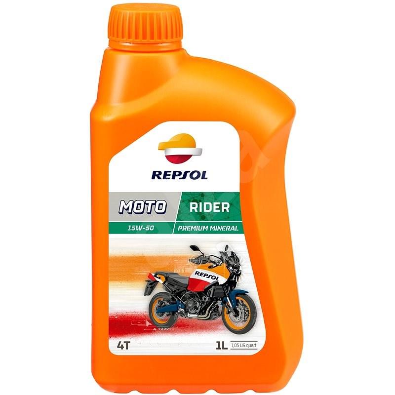 REPSOL MOTO RIDER 4-T 15W-50 1 l - Motorový olej