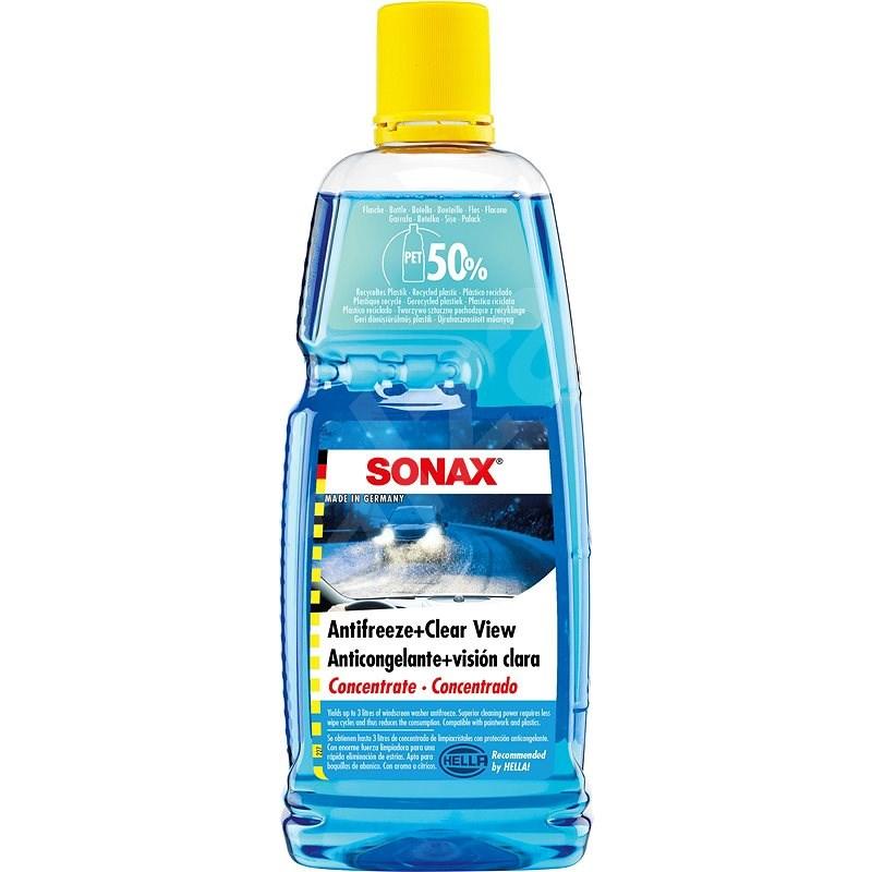 SONAX Zimná kvapalina do ostrekovačov koncentrát -70 °C, 1 l - Voda do ostrekovačov
