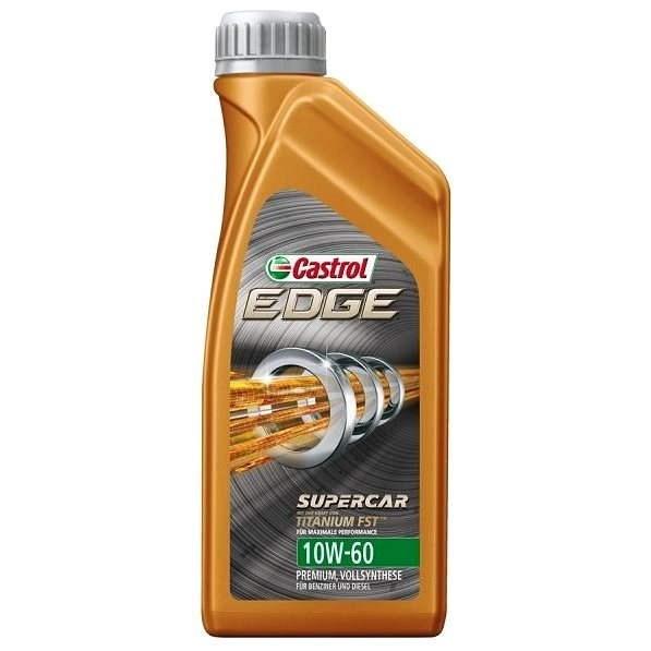 Castrol EDGE 10W-60 Super car - 1 liter - Olej