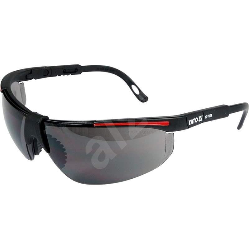 YATO Ochranné okuliare tmavé typ 91708 - Ochranné okuliare