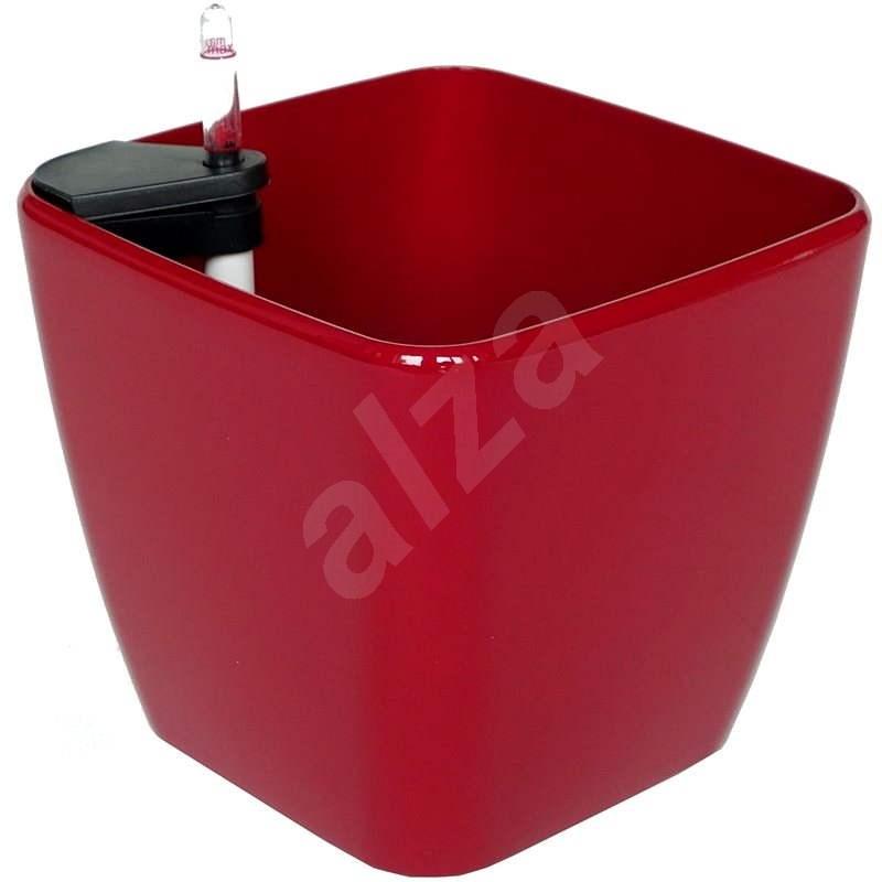 G21 Kvetináč Cube červený 22 cm - Kvetináč
