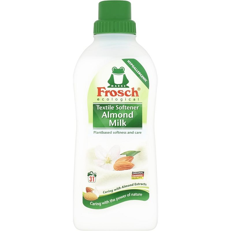 FROSCH EKO Mandľové mlieko 750 ml (31 praní) - Ekologická aviváž