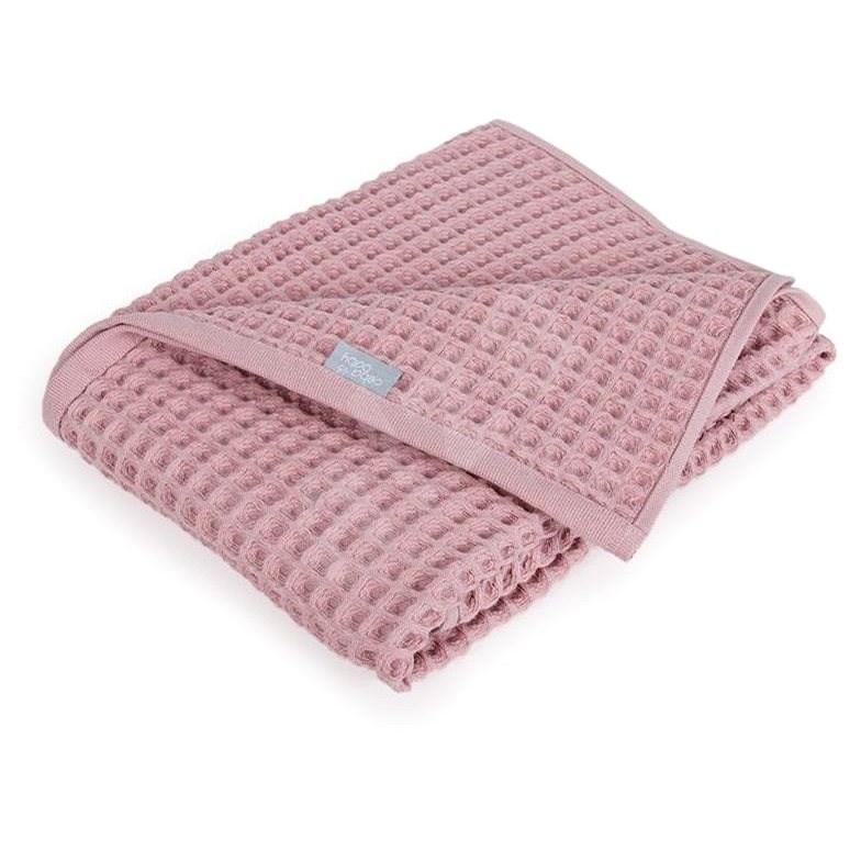 CEBA Waffle Line 90 × 90 cm – Silver Pink Ceba - Detská deka