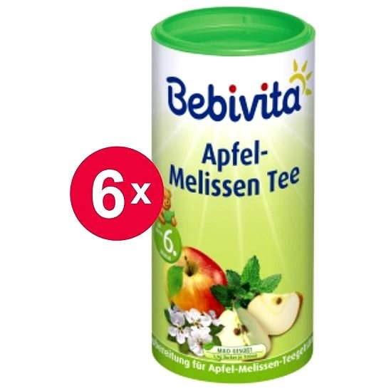Bebivita Jablkovo-medovkový čaj - 6x 200g - Čaj