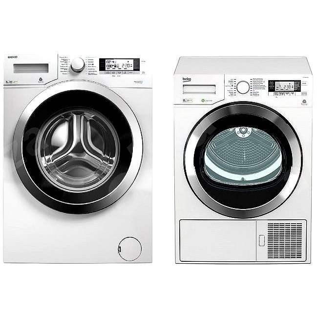 BEKO DPY 8506 GXB1 + WMY 81243 CS PTLMB1 - Set práčka a sušička