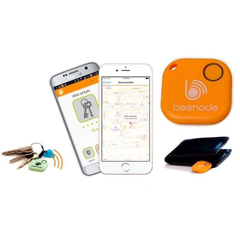 Beenode oranžový - Bluetooth lokalizačný čip
