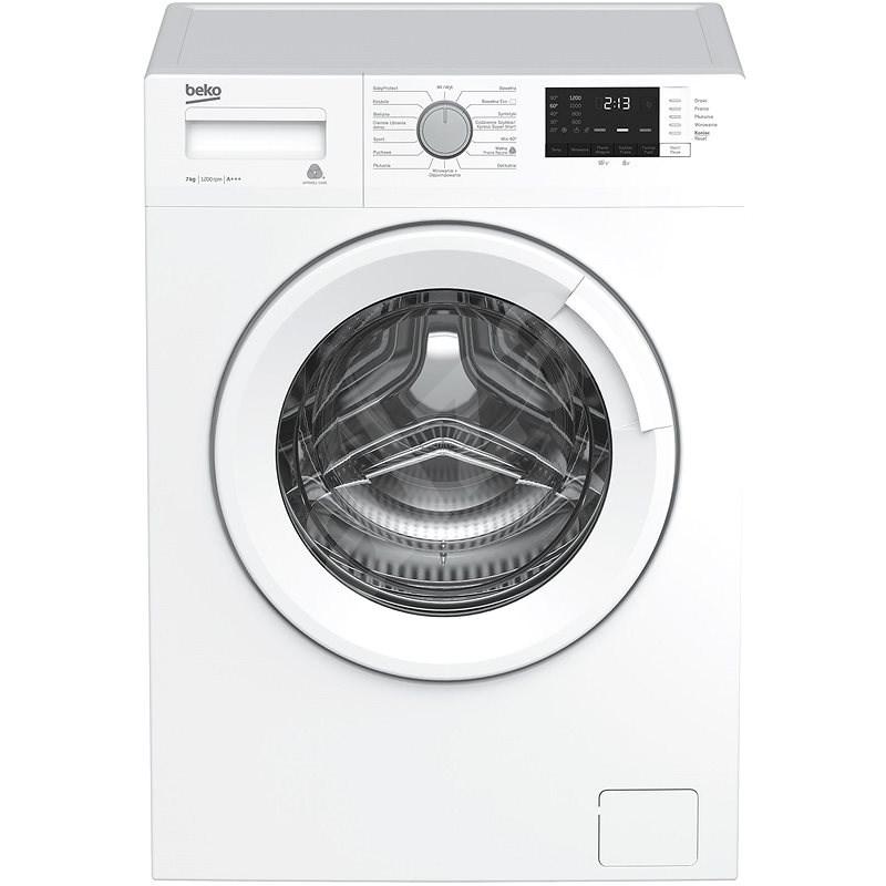 BEKO WRE7612XWW - Úzka práčka s predným plnením