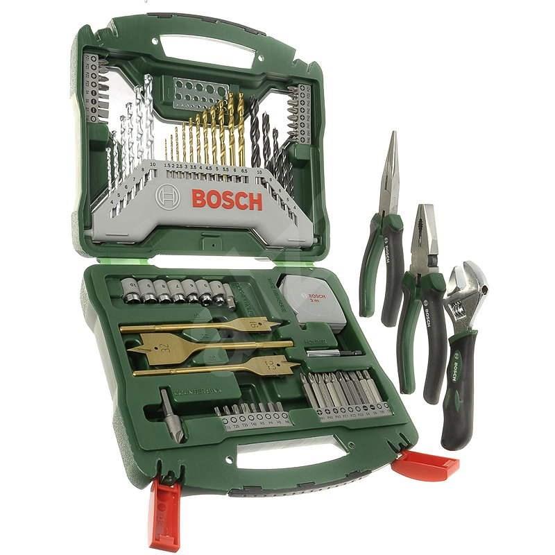 Bosch Set príslušenstvo Mini X-Line 70Ti + sada ručného náradia - Sada vrtákov