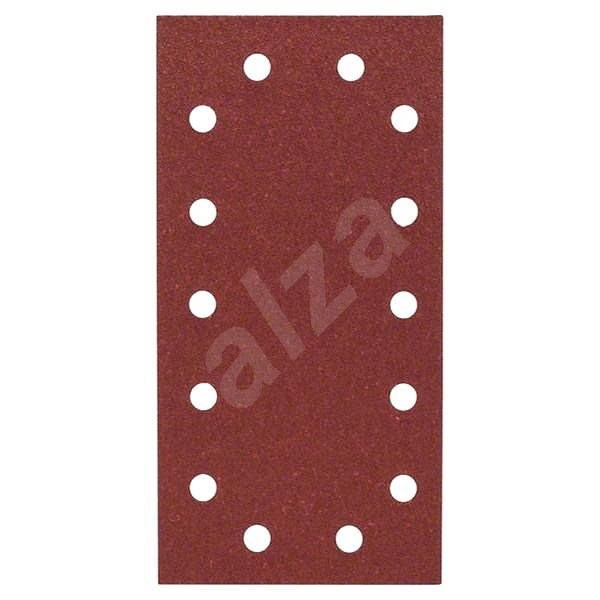 BOSCH Sada brúsnych papierov C470, G100, 10ks - Brúsny papier