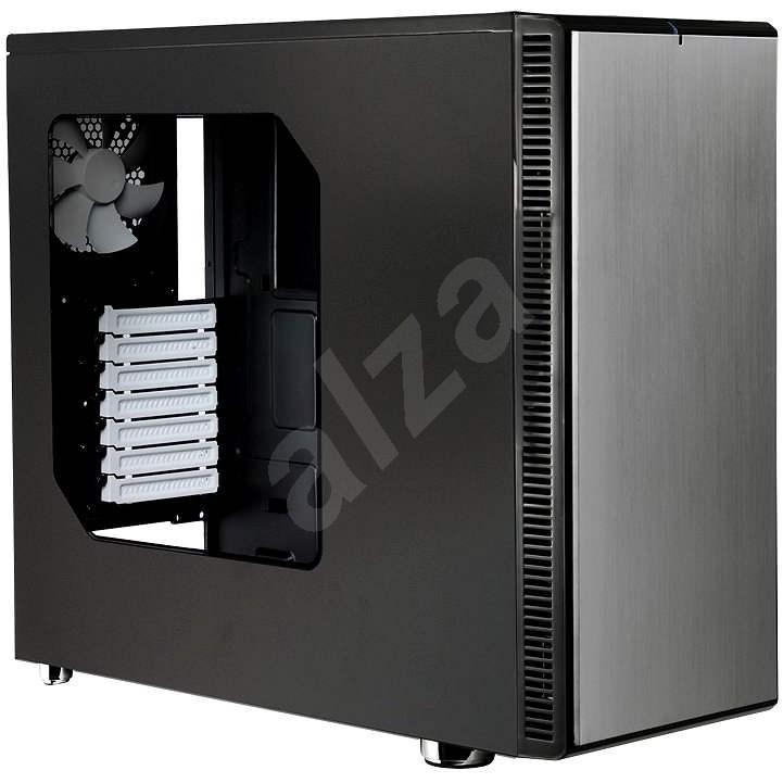 Fractal Design Define R4 Titanium Grey - Window - PC skrinka