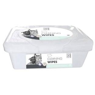 M-Pets Cleaning Wipes 19 × 16 cm 80 ks - Hygienické utierky pre psov