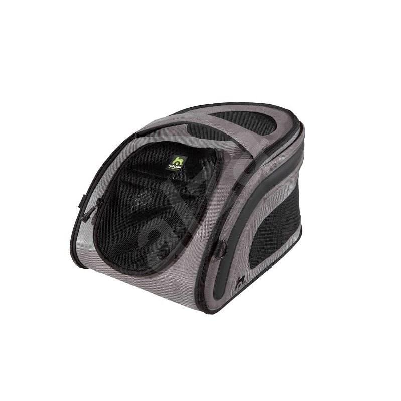 Maelson Nylonová prepravka pre malé psy a mačky – antracitová – 52 × 30 × 30 cm - Prepravka pre psa
