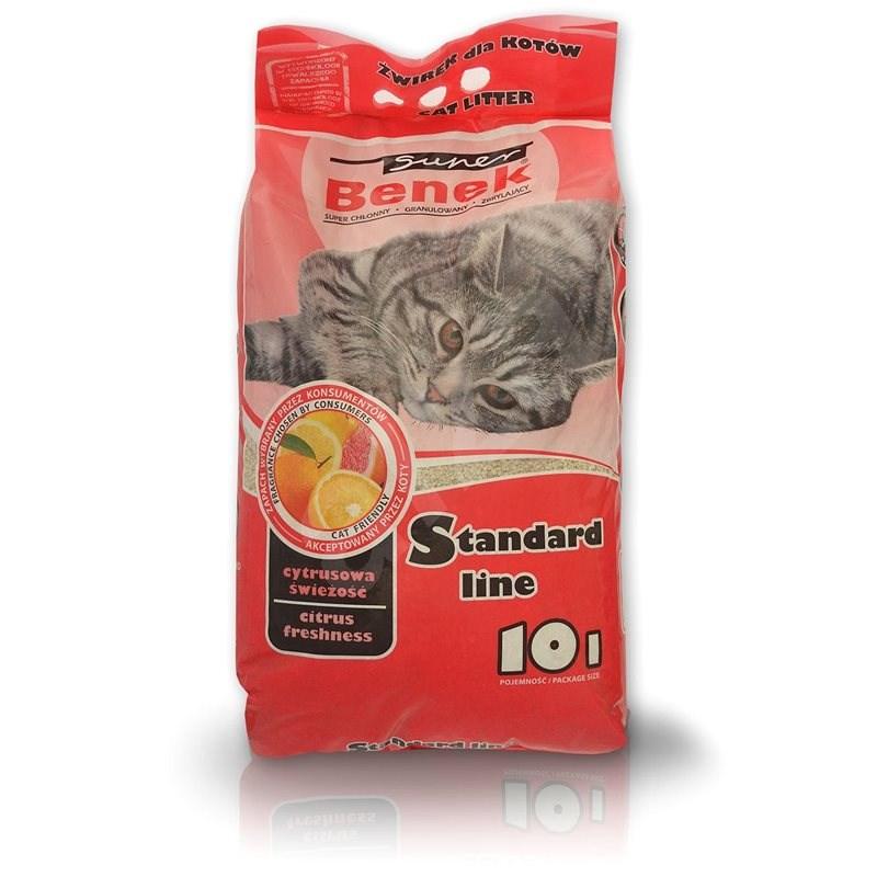 Super Benek Citrus Freshness 10l - Podstielka pre mačky