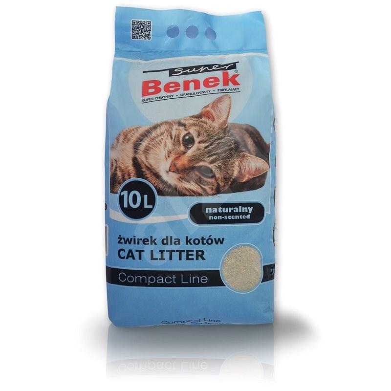 Super Benek Compact 10l - Podstielka pre mačky