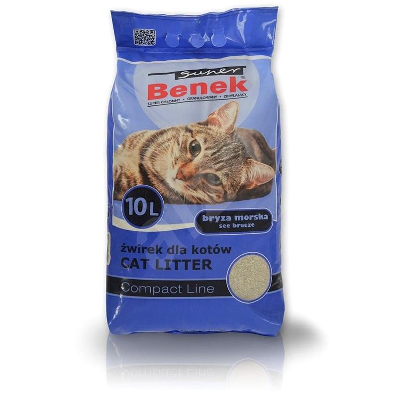 Super Benek Compact Sea Breeze 10l - Podstielka pre mačky