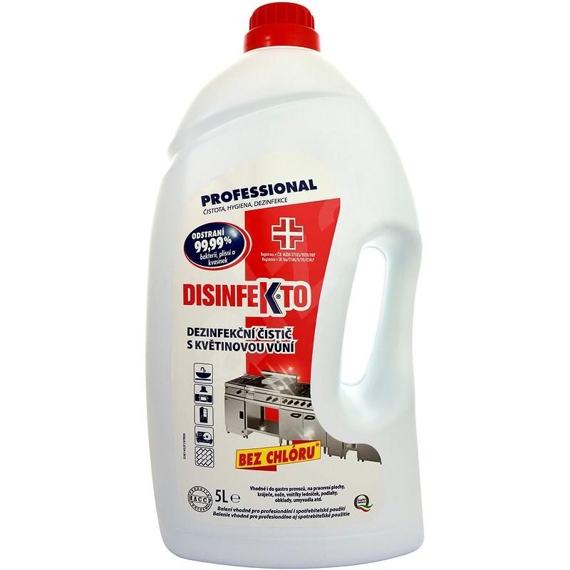 DISINFEKTO 5 l - Dezinfekcia