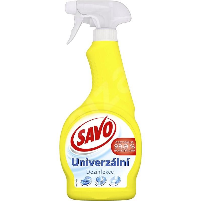 SAVO Univerzální dezinfekční sprej 500 ml - Dezinfekcia