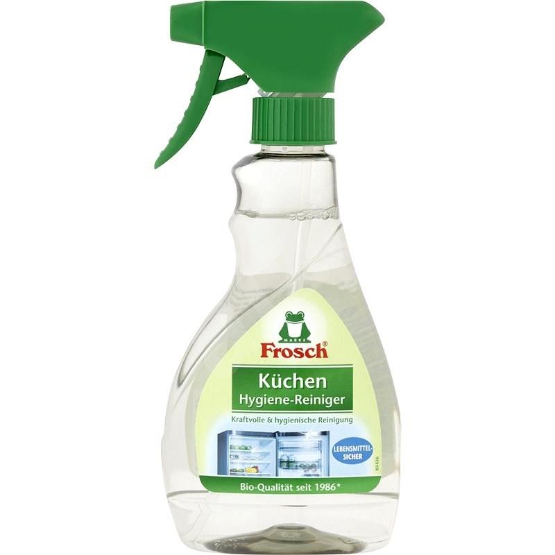 FROSCH Hygienický čistič chladničiek a iných kuchynských povrchov 300 ml - Ekologický čistiaci prostriedok
