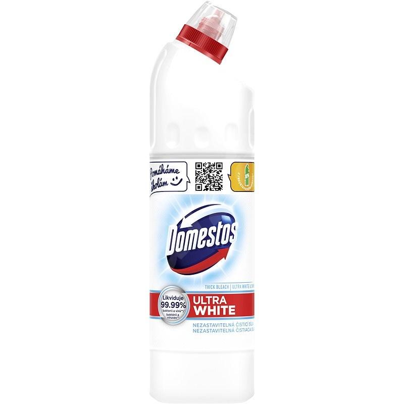 DOMESTOS Ultra White – tekutý dezinfekčný prípravok 750 ml - Dezinfekcia