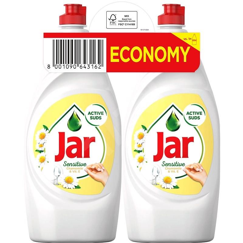 JAR Sensitive Chamomile & Vitamin E 2× 900 ml - Prostriedok na riad