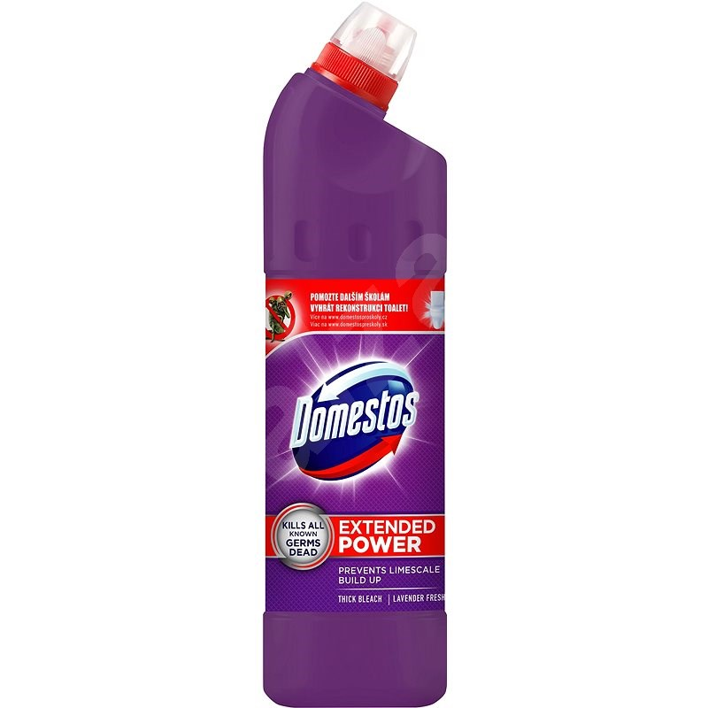 DOMESTOS Extended Power Lavander 750 ml - WC čistič