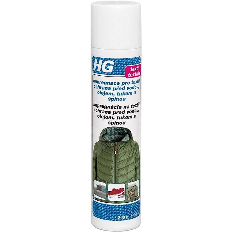 HG Impregnácia pre textil ochrana pred vodou, olejom, tukom a špinou 300 ml - Čistiaci prostriedok