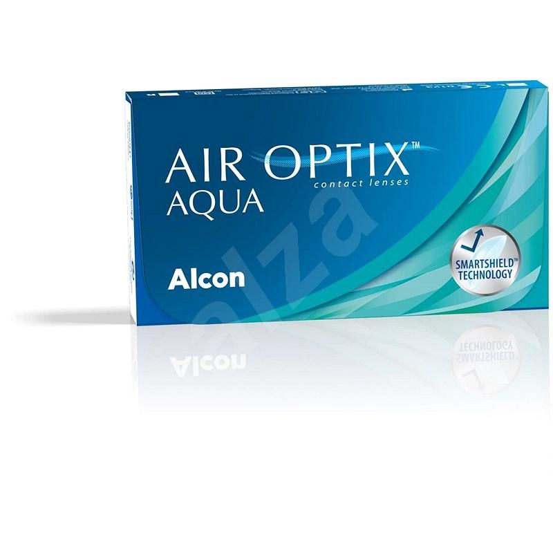 Air Optix Aqua (3 šošovky) dioptrie: +2.00, zakrivenie: 8.60 - Kontaktné šošovky