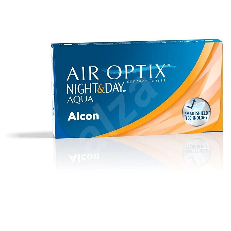 Air Optix Night and Day Aqua (3 šošovky) dioptria: +3,50, zakrivenie: 8,40 - Kontaktné šošovky